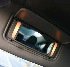 汽车遮阳板化妆镜保护膜